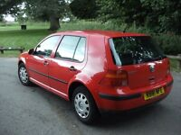 volkswgen golf 1.4 petrol *comes with 12 months mot* runs and drives great , nice little car