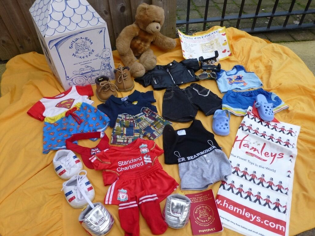 Build A Bear & OutFits & Shoes £30 or vno
