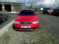 Audi A4 1.8t SLine 190bhp