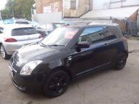 Suzuki SWIFT VVTS GLX,3 door hatchback,full leather interior,chequered roof,Sat Nav, all the extras