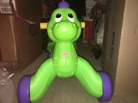 Fisher price stride to ride Dino ride on dinosaur(make me an offer)