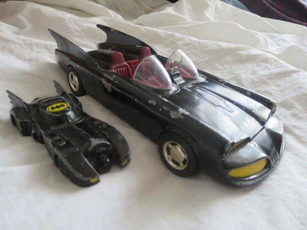 Corgi 1960 Batmobile VINTAGE Toy Car BMBV1 Die Cast + 1989 Batman Toy Car  DC Comics | in Ilford, London | Gumtree
