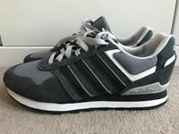 Adidas Neo grey men's Trainers Shoes Size 9 uk