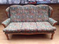 Sofa (and optional armchairs)