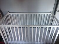 Space Saver White Cot