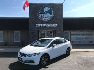 2013 Honda Civic EX SUPER LOW YEAREND CLEAROUT ACT NOW