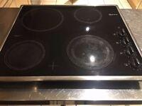 Neff Ceramic Electric Hob TS1212N0 (Ceran) - Black with Silver