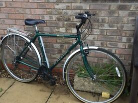 Gents bicycle. Raleigh Pioneer Classic Delux