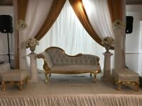 Wedding and Event Throne chairs and Sofa rentals