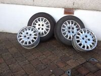 4 / Citroen C5 alloy wheels