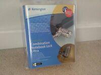 Kensington Ultra Laptop Combination Lock Resettable 10000 Combinations Cable 1800mm