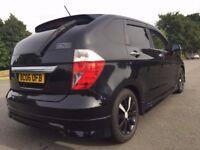 Clean Honda FR-V/ Edix 1.7 Vtec Automatic Black with rare Modulo Bodykit 87K New Import
