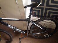 Carrera Vengeance Mens Mountain Bike - Black-