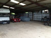 Storage Space / Classic Car Tractor Trailer Farm Machinery Household Item Storage / Car Park Parking