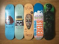 Selection of skateboards (£25 each)
