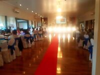 HALL HIRE/Stunnig Wedding Reception Venue
