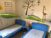Boys Ikea beds and mattress x2