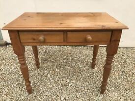 Solid pine dressing table / writing desk / computer table