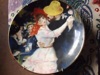 Stafford shire Dance at Bougival china plate