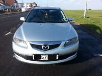 Silver Mazda 6, 2007