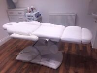 3-WAY HYDRAULIC MASSAGE TABLE - BEAUTY COUCH - USED (MINT CONDITION)