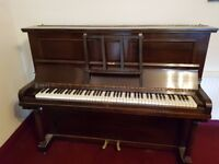 Beautiful Barnes upright piano - plays very well - good condition - fully serviced