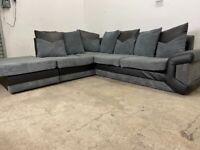 Grey Harvey's corner sofa, couch, suite, furniture 🚛🚚🚛