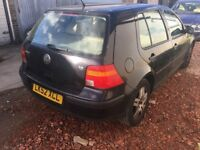 2002 Vw golf 1.6 petrol 5 doors automatic