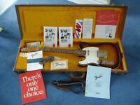 Left Handed Japanese Fender Telecaster '62