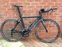 Planet X stealth Pro Carbon TT Bike.