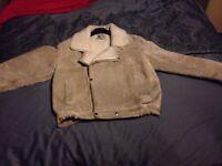 Fleece swead bomber Jacket
