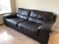 *SOLD* Leather sofa