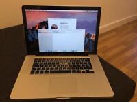 "Apple MacBook Pro 15"" Mid 2010 - 2.4GHz Intel Core i5, 4GB RAM, 250GB HDD, MacOS Sierra"
