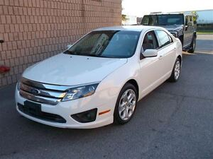2011 Ford Fusion PEARL WHITE,ACCIDENT FREE
