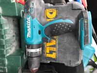 Makita drill body only with case