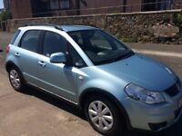 58 suzuki SX 4.gl 5 door hatchback.full service records/12 months mot/warranty
