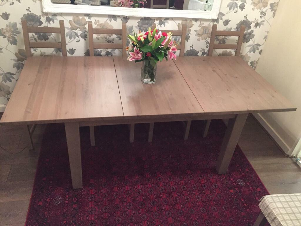 Ikea Stornas dining table 8 matching chairs in Cambridge