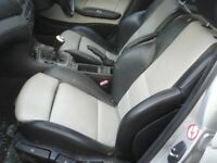BMW E46 318 320 M SPORT SEAT SEATS IN LEATHER