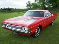 Plymouth fury 2, 1970, american classic