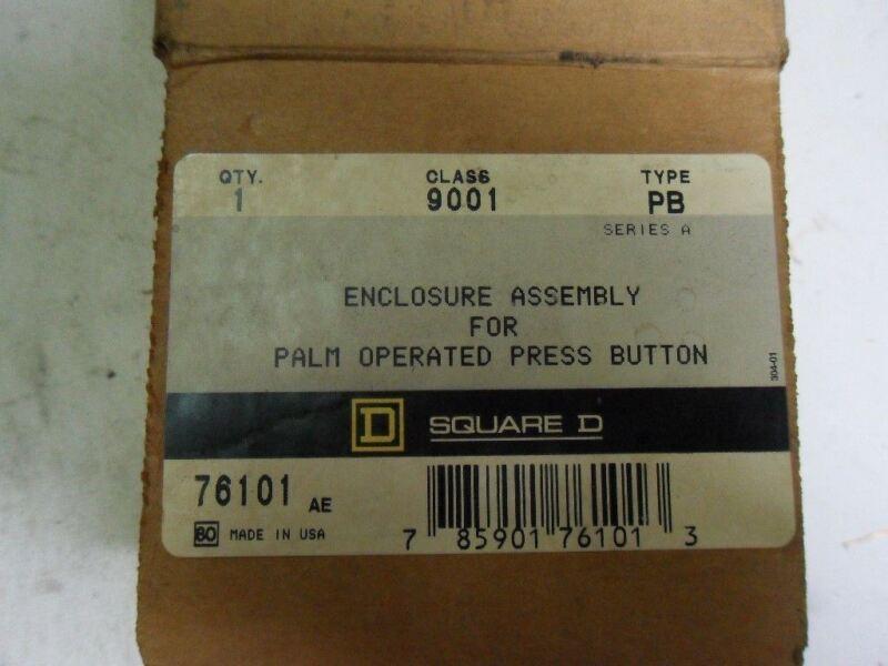 (l8) 1 Square D 9001-pb Enclosure Assembly