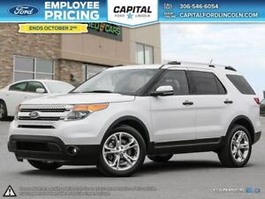 2015 Ford Explorer Limited * Leather * Heated F/R Seats * Com. S