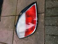 Astra h 5 door rear light cluster