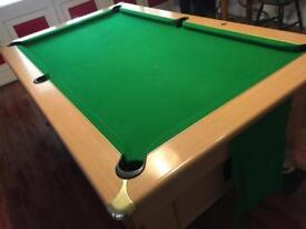 Pool table 7 x 4 ft - ask about delivery