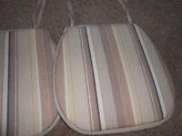 4 Chair Pads - - £5 - - -