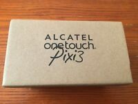 "Alcatel onetouch pixi 3 4"" unlocked brand new boxed £35 fix price"