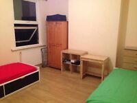 studio living in west london , twin roomS for 2 friends & 1 ensuite room FROM £90 AWEEK