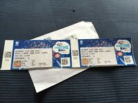 Summertime ball tickets X2