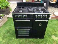 Stoves dual fuel 900mm range cooker