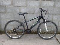 mens bike 26'' black apollo slant