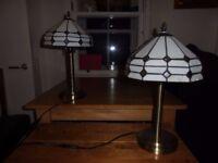 TWO BEDSIDE LIGHTS